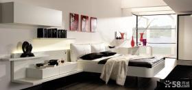 现代风格卧室装修效果图大全2012图片 现代主卧室装饰效果图