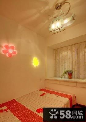 2013女生卧室灯具装修效果图