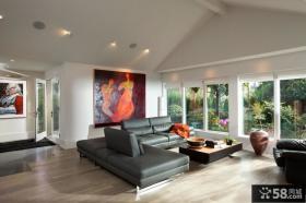 阁楼装修效果图 现代客厅装修效果图