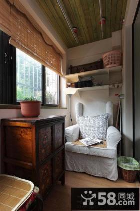 美式设计室内阳台图片