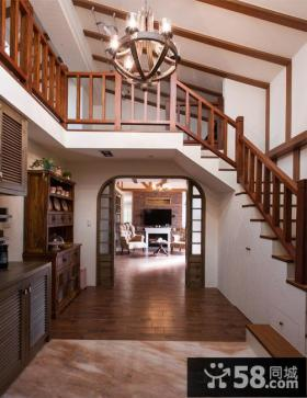 美式乡村风格房屋结构装修图片欣赏