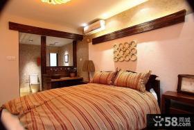 优质简约三居主卧室装修效果图欣赏