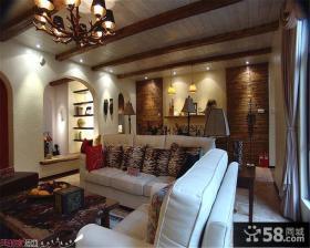 美式乡村风格室内装修设计效果图