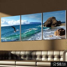 好看的客厅装饰画效果图