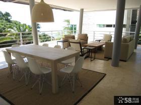 现代简约装饰风格客厅设计图片