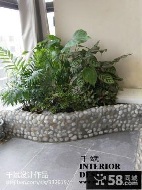 阳台盆栽图片