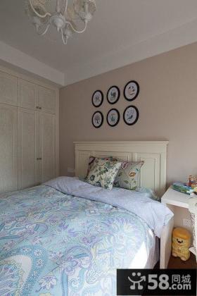 简欧风格家装卧室设计效果图