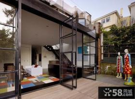 东南亚风格复式阳台设计
