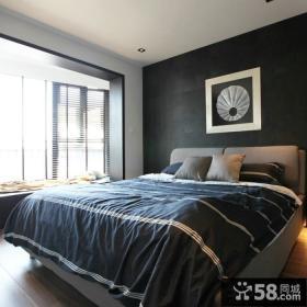 现代精装修10平米卧室图片