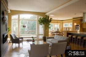 别墅现代简约风格装修 现代简约装修风格客厅背景墙