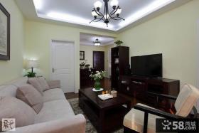 美式风格小客厅装修效果图片