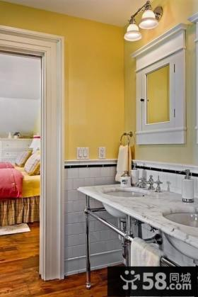 美式田园风格卧室装修效果图欣赏