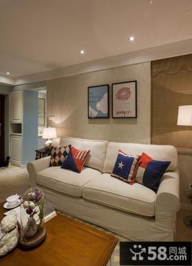 休闲美式两居室装修效果图