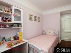 现代美式风格儿童房卧室装修效果图