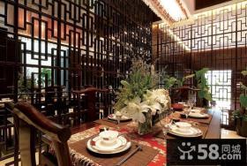 中式古典别墅装修效果图大全