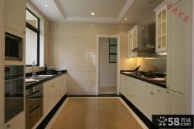 欧式风格厨房墙砖效果图大全