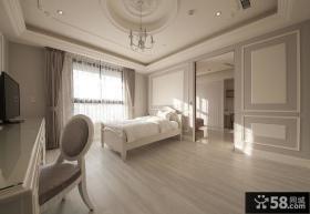 简约欧式风格20平米卧室装修效果图