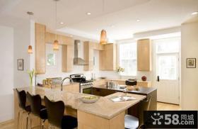 简约家居大户型整体厨房装修效果图