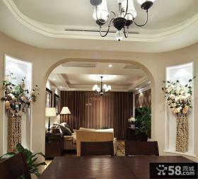 客厅吊顶效果图欣赏