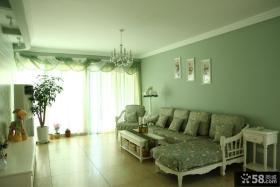 欧式田园70平米小户型客厅装修图片
