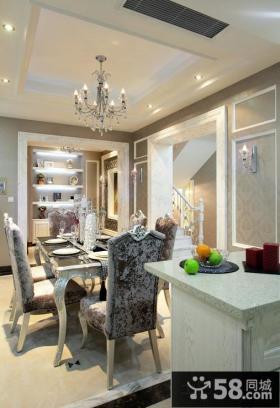 新古典风格家装别墅设计效果图