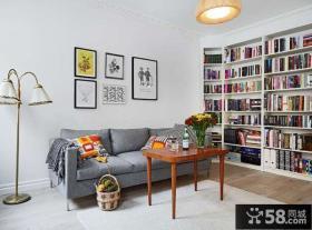 优质简约风格客厅沙发背景墙装修效果图
