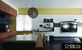 现代风格电视背景墙装修效果图大全图片