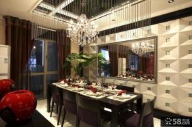 中式别墅餐厅吊顶装修效果图大全2013图片