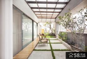 现代绿色生活阳台设计