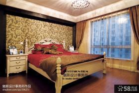 卧室床头壁纸图片欣赏
