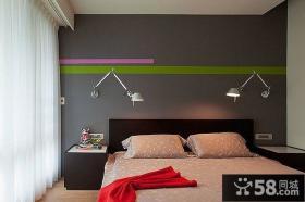 室内简约风格卧室装修图片