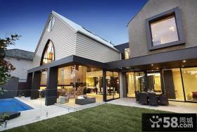 哥特式风格联排别墅外观图片