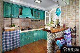 开放式厨房装修设计图片