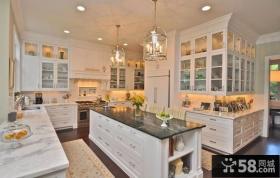 装修欧式风格厨房整体橱柜图片