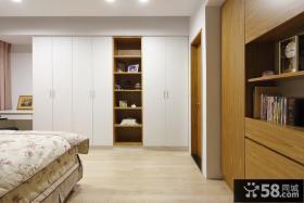 卧室衣柜实景图