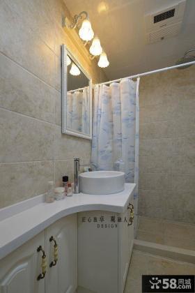 时尚美式卫生间镜前灯图片