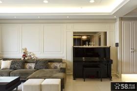 现代风格三室两厅设计效果图大全欣赏