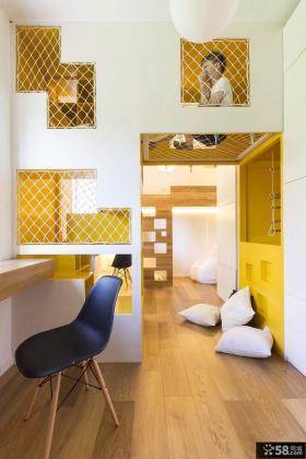 环保节省空间设计儿童房效果图