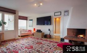 田园风格复式室内家装效果图