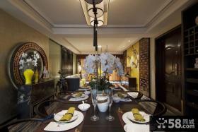 古典中式别墅餐厅装修效果图