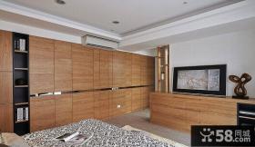 实木组合大墙壁衣柜