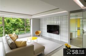 简易设计客厅电视背景墙大全