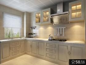 简欧风格厨房橱柜效果图片