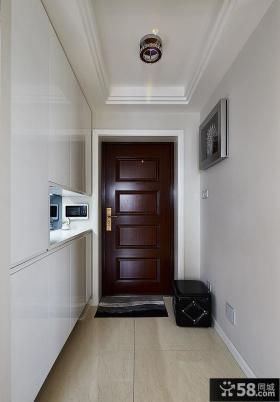 现代室内玄关装饰设计效果图片