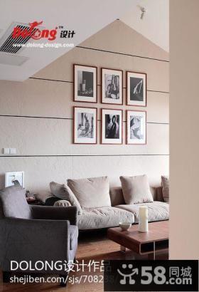 复式家装客厅装修设计图片