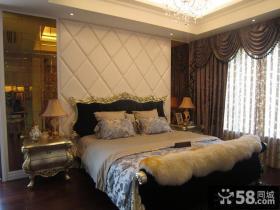 新古典风格卧室软包背景墙效果图欣赏