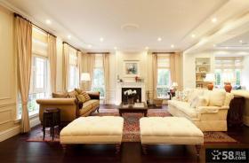 豪华古典美式别墅装潢案例