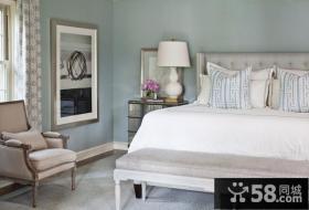 简欧式卧室装修效果图大全图