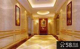 230万打造现代豪华简欧风格客厅装修效果图大全2014图片