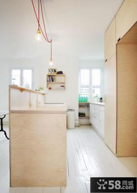 个性简洁设计风格厨房